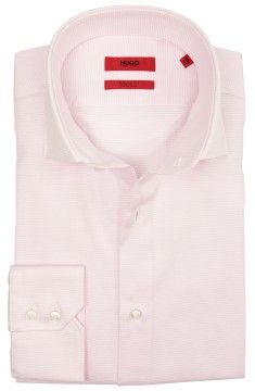Overhemd hugo Boss roze easy iron