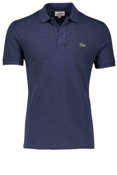 Polo Lacoste jeans blauw slim fit