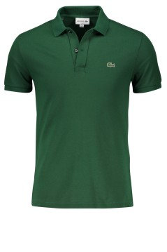 Lacoste groen poloshirt slim fit