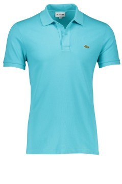 Lacoste turquoise polo slim fit