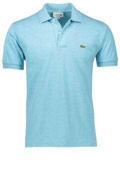 Poloshirt Lacoste lichtblauw melange classic fit