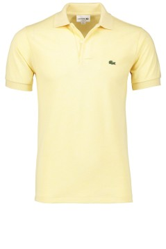 Lacoste polo lichtgeel classic fit