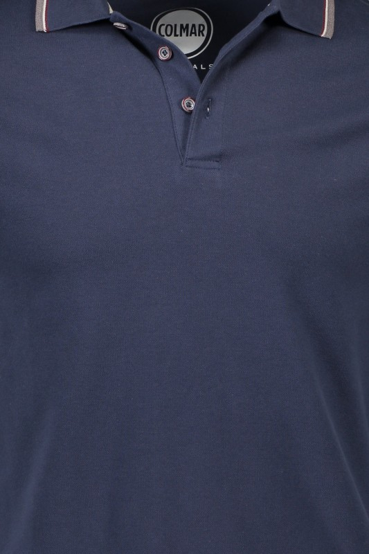 Colmar polo donkerblauw stretch 4SH