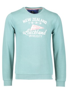 New Zealand sweater middengroen