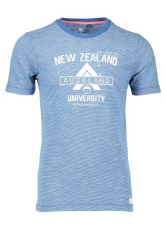 New Zealand t-shirt met ronde hals blauw