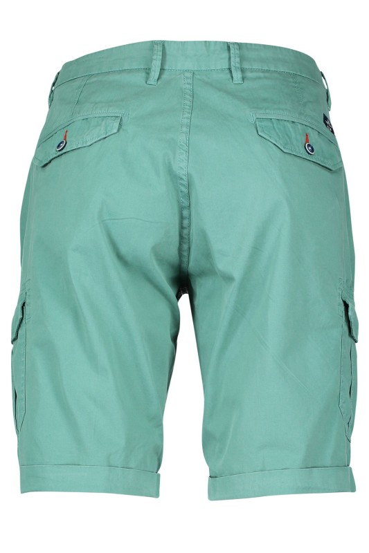 New Zealand shorts groen flat front