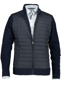 Vest State of Art rits donkerblauw