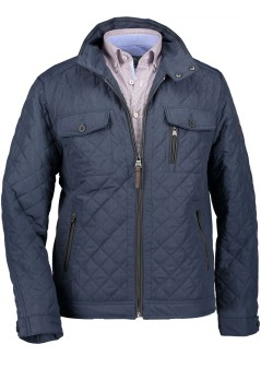 State of Art jas donkerblauw polyester