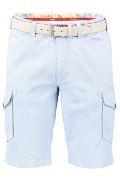 Meyer shorts cargo blauw stretch