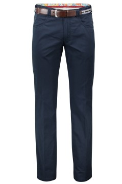 Meyer Pantalon katoen marine dubai stretch