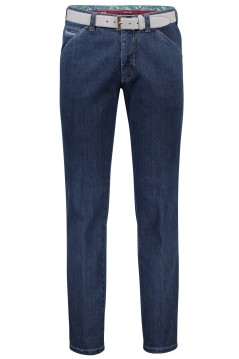 Meyer Chicago jeans donkerblauw 2-tone
