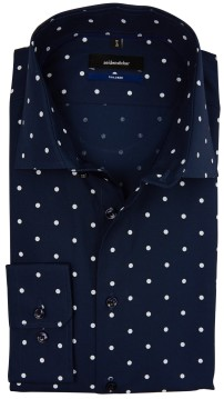 Seidensticker Tailored overhemd navy stipmotief