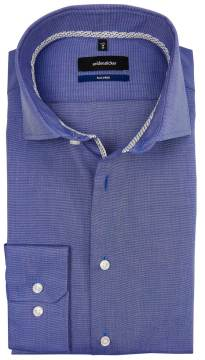 Seidensticker Tailored shirt blauw non iron