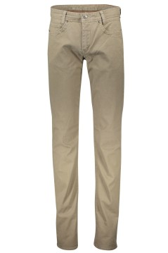 Mac Arne Pipe broek beige extra lang 5-pocket