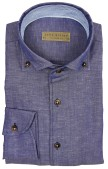 John Miller dress shirt donkerblauw tailored fit