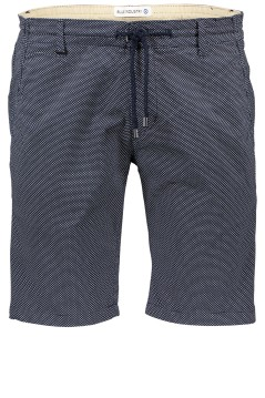 Blue Industry short dessin navy print