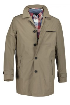 State of Art jas beige regular fit effen