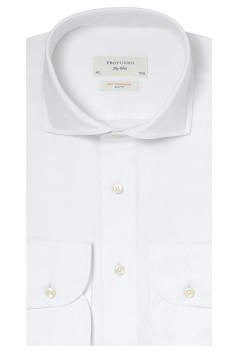 Profuomo business shirt wit slim fit
