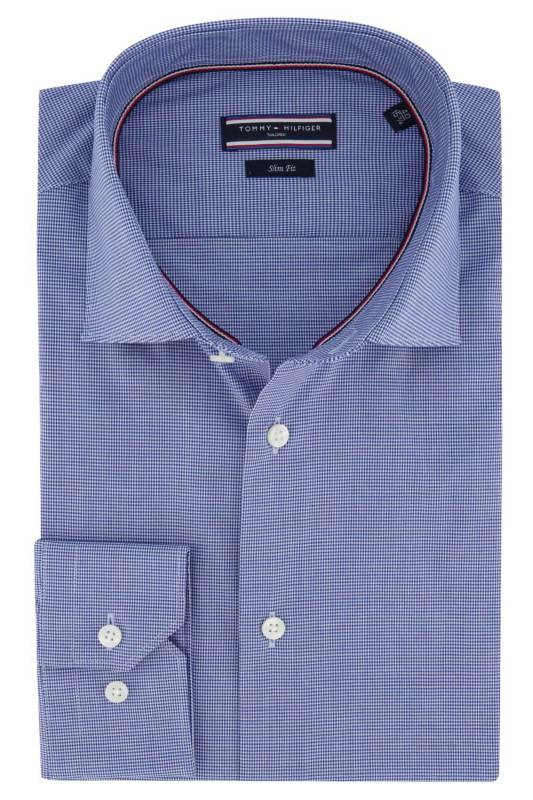 Tommy Tailored shirt mouwlengte 7 Stretch