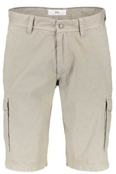 Brax beige regular fit bermuda katoen