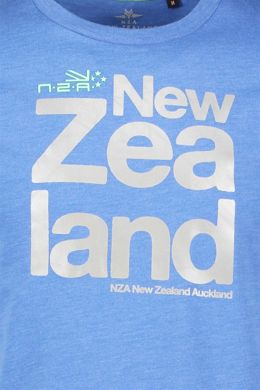 New Zealand Auckland blauw T-shirt Dampier