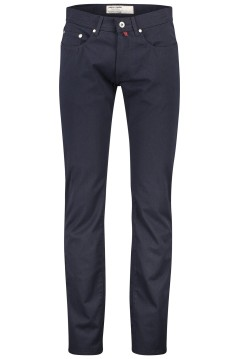 Pierre Cardin 5-pocket broek Lyon modern fit navy