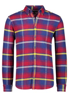 Tommy Hilfiger shirt rood blauw ruit flannel