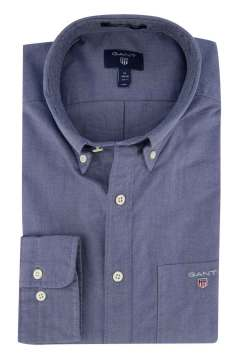 Overhemd Gant blauw button down