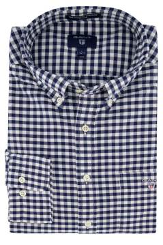 Gant overhemd geruit button down
