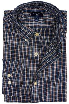 Overhemd Gant geruit button down
