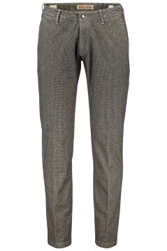 Four.ten Industry chino broek bruin antraciet