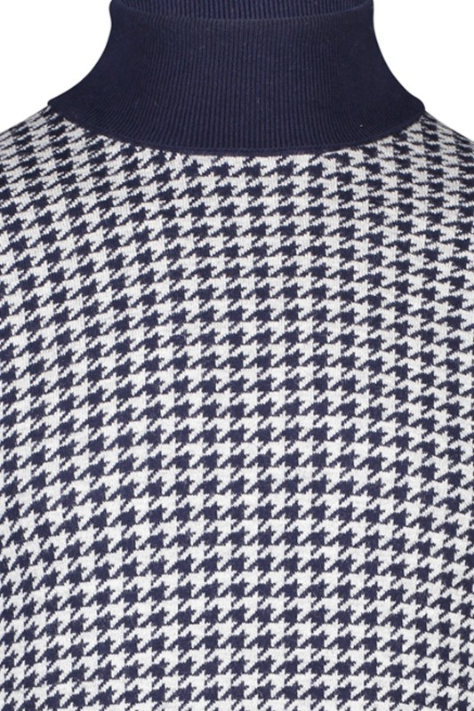 Jackett & Sons coltrui navy print