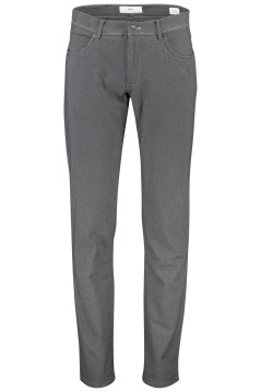Brax Cadiz broek 5-pocket straight fit grijs