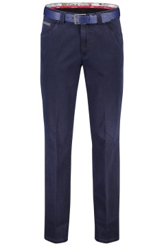 Meyer pantalon Dublin 5-pocket donkerblauw
