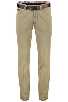 Meyer pantalon katoen camel 5-pocket