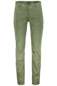 Hugo Boss pantalon Schino chino groen