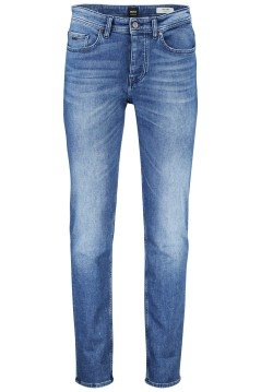 Hugo Boss jeans 5-pocket tapered fit blauw