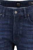 Hugo Boss 5-pocket jeans tapered fit donkerblauw