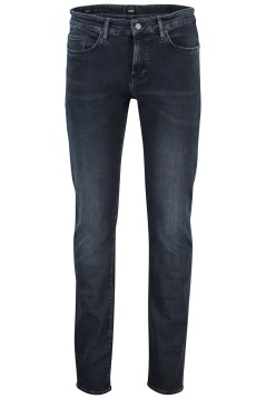 Hugo Boss slim fit jeans donkerblauw 5-pocket