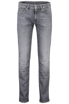 Hugo Boss Delaware jeans 5-pocket grijs
