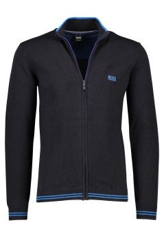 Vest Hugo Boss Big & Tall donkerblauw