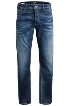 Jack & Jones Plus Size jeans 5-pocket blauw slim fit