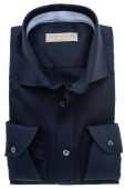 John Miller tailored fit shirt mouwlengte 7 navy