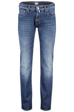 Pierre Cardin 5-pocket jeans slim fit blauw