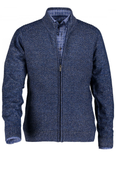 State of Art vest donkerblauw regular fit