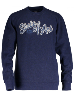 State of Art trui donkerblauw regular fit