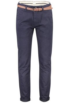 Dstrezzed chino met riem Presley stretch navy