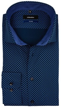 Overhemd Seidensticker Tailored donkerblauw