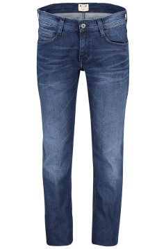 Jeans Mustang Oregon Straight blauw 5-pocket