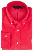 Ralph Lauren overhemd rood button down